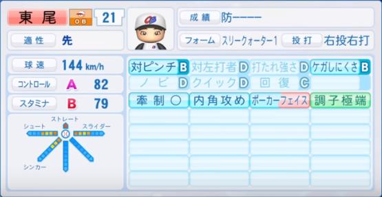東尾_プロ野球OB_パワプロ能力