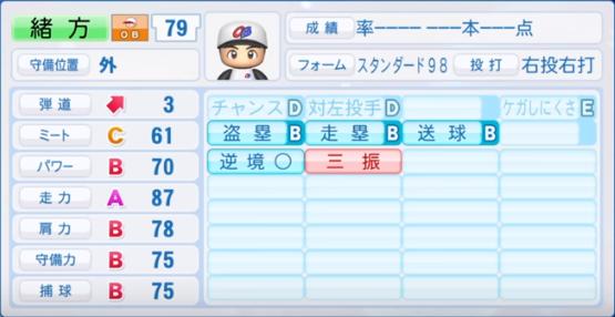 緒方_プロ野球OB_パワプロ能力
