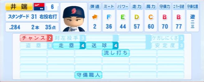 井端弘和_中日ドラゴンズ_パワプロ能力データ_2013年シーズン終了時