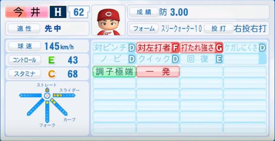 今井_広島カープ_パワプロ能力データ_2016年シーズン終了時